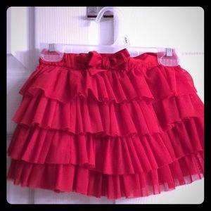 Girl's ruffle/ puffy skirt